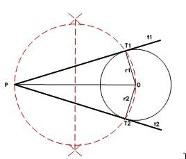 Tangencias por jos antonio cuadrado for Exterior a la circunferencia